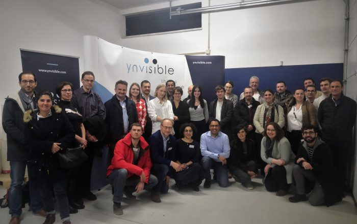 INNAPPER team at the facilities of ynvisible in Lisbon